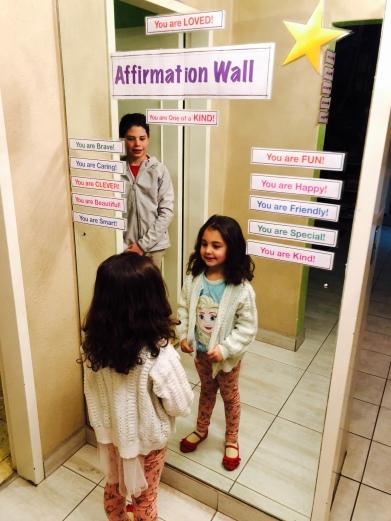 Affirmation Wall